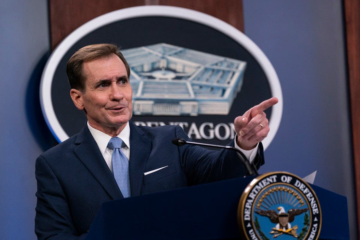 Pentagon spokesman John Kirby said that Kabul is not right now in an imminent threat, adding that the Taliban is trying to isolate the Afghan capital. (AP)