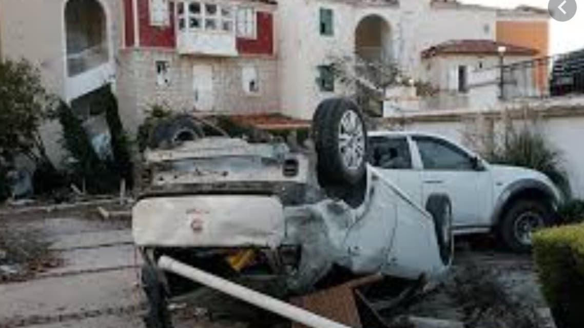 دمار من جراء إعصار تركيا