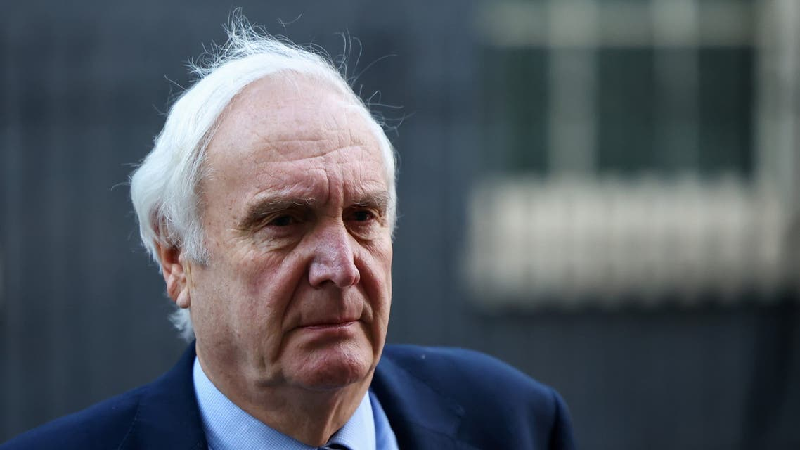 Britain's special envoy to the Gulf Edward Lister. (Reuters)