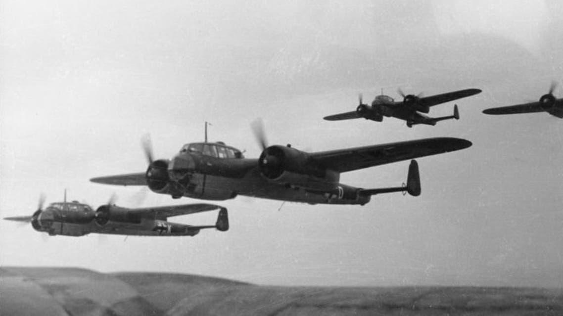 طائرات ألمانية بالحرب العالمية الثانية