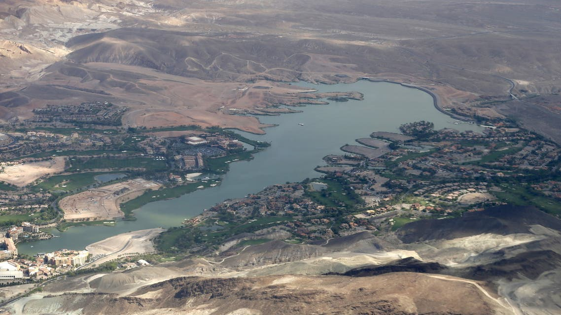 General view of a lake in Las Vegas, Nevada. (File photo: Reuters)