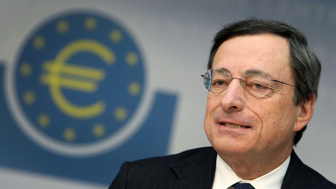 File photo of Mario Draghi in Frankfurt/Main, on December 6, 2012. (AFP)