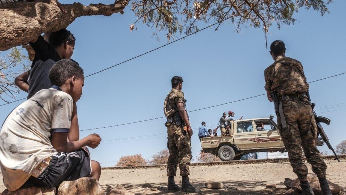 عناصر من الجيش الإثيوبي - أرشيفية