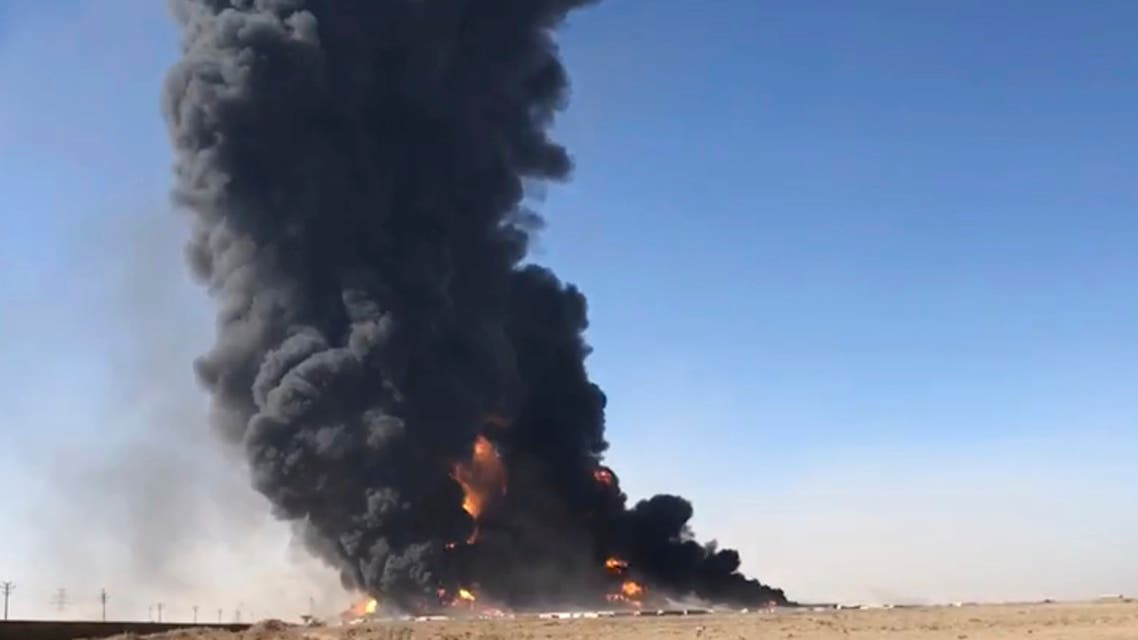 A fuel tanker exploded Saturday at the Islam Qala crossing in Afghanistan's western Herat province on the Iranian border, injuring at least seven people and causing a massive fire that consumed more than 500 trucks carrying natural gas and fuel, according to Afghan officials and Iranian state media. (File photo: AP Photo)