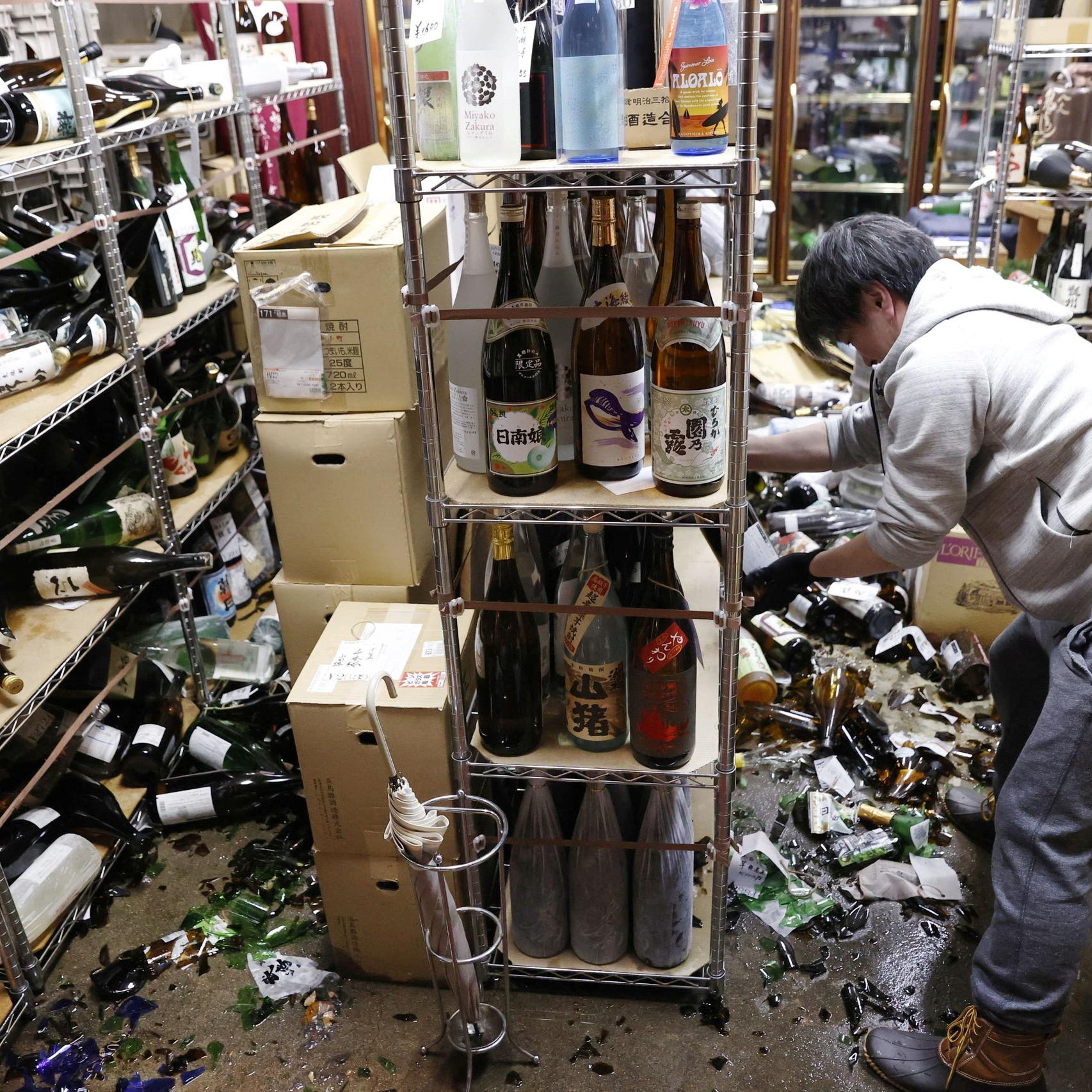 Strong 7.1 magnitude earthquake hits off coast of Japan's Fukushima
