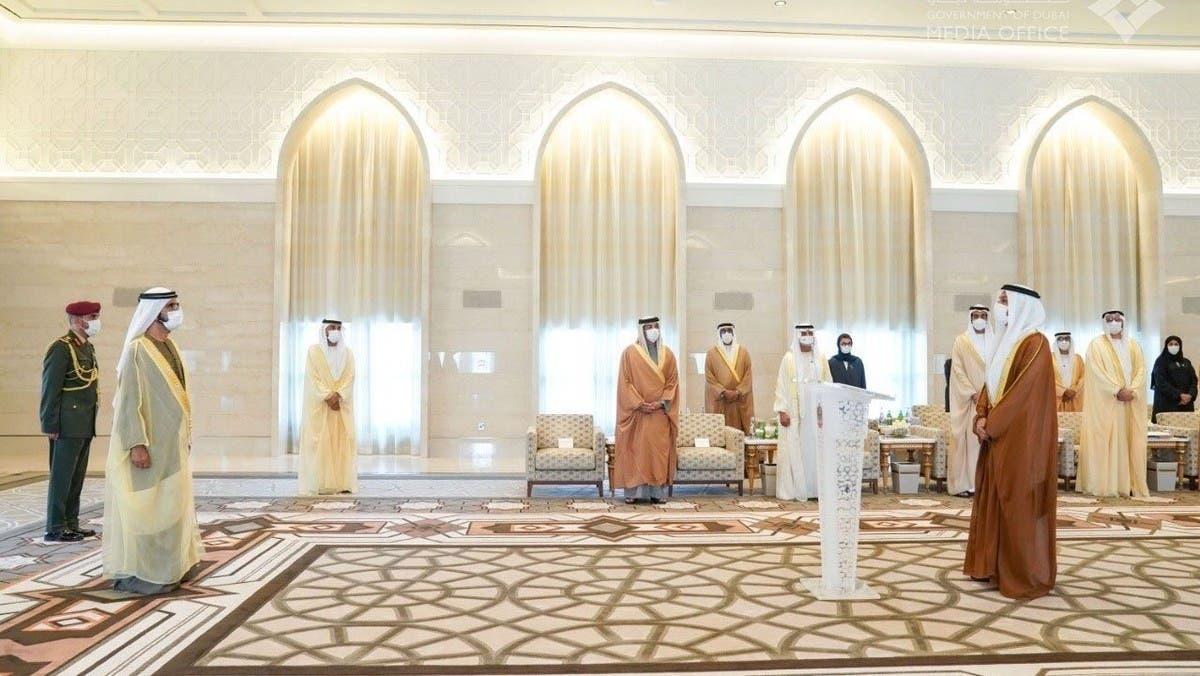 سفير الإمارات لدى إسرائيل يؤدي اليمين أمام محمد بن راشد