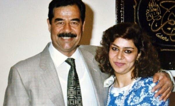 Image result for رغد دختر ارشد صدام حسین
