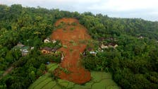 Torrential rains trigger Indonesia landslide; two dead, 16 missing