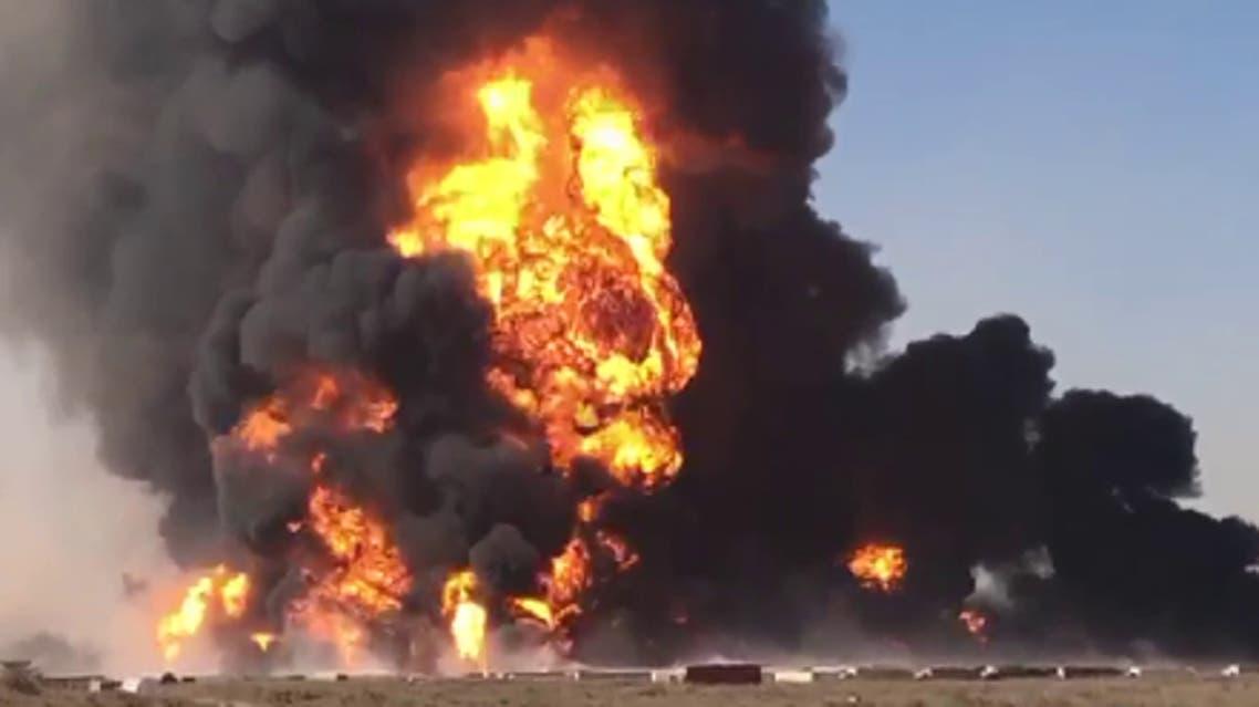 افغانستان؛ تجمع اعتراضی رانندهگانی که موترهایشان در آتشسوزی اسلام قلعه حریق شد