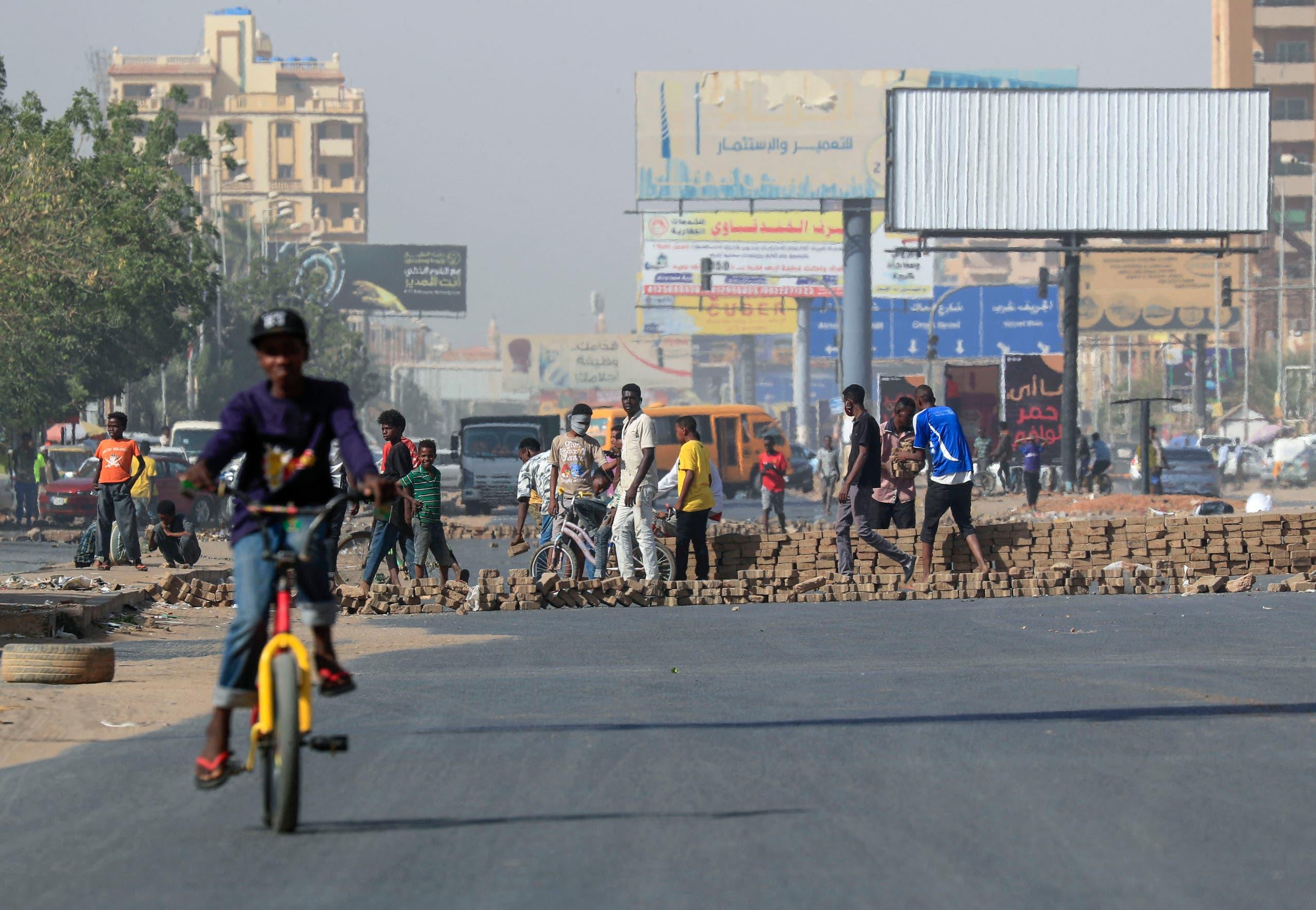 تظاهرات في الخرطوم (أرشيفية- فرانس برس)