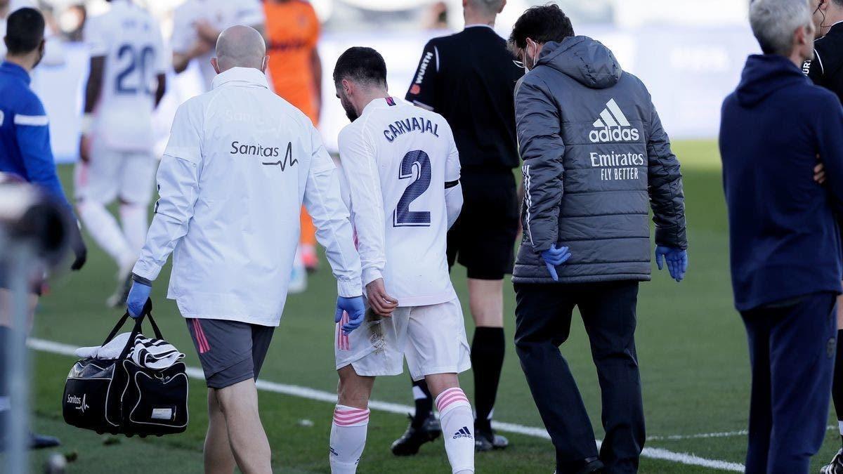 إصابة جديدة تضرب الإسباني كارفخال