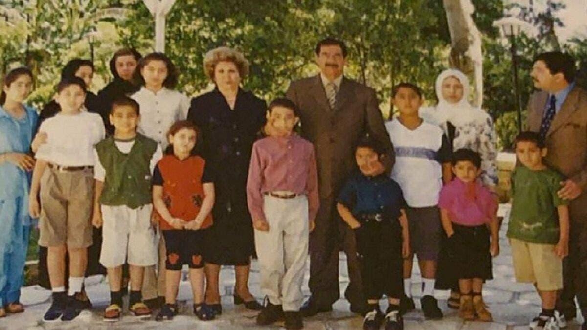 صدام حسين وعائلته