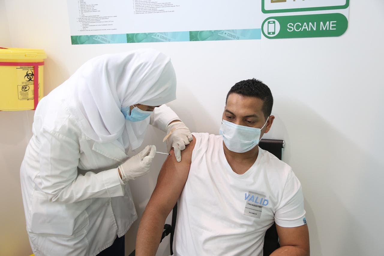 من حملة التطعيم في مكة