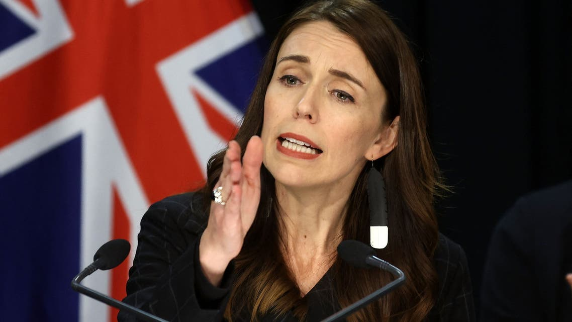 New Zealand's Prime Minister Jacinda Ardern speak during a press conference about the charges laid over the 2019 White Island volcanic eruption, in Wellington on November 30, 2020. AFP