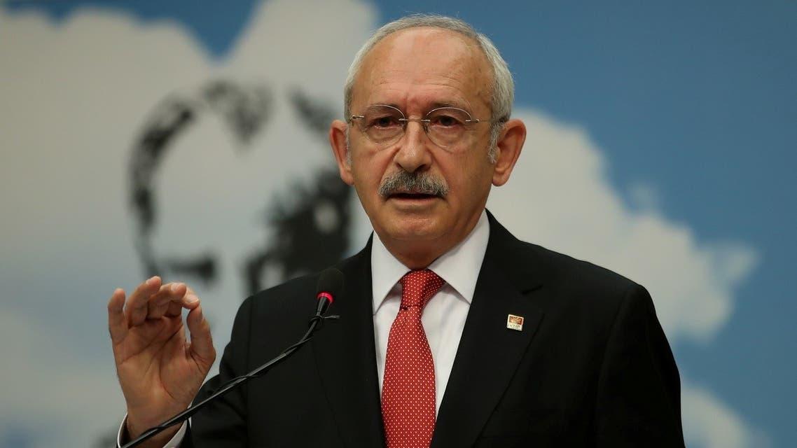 Kemal Kilicdaroglu, leader of Turkey's main opposition Republican People's Party (CHP), attends a news conference in Ankara, Turkey June 26, 2018. (Reuters/Umit Bektas)