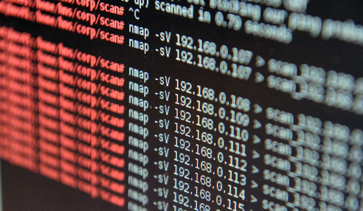 This picture taken on February 4, 2016 shows a computer screen at the National engineering elite school of Bretagne-Sud cybersecurity center in Vannes, western France. (File photo: AFP)