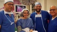 حورية فرغلي تطمئن جمهورها بعد عملية دقيقة لترميم الأنف