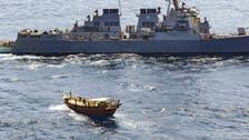 امریکا نے صومالیہ کے نزدیک ہتھیاروں کی کھیپ پکڑ لی، ممکنہ طور پر یمن جا رہی تھی