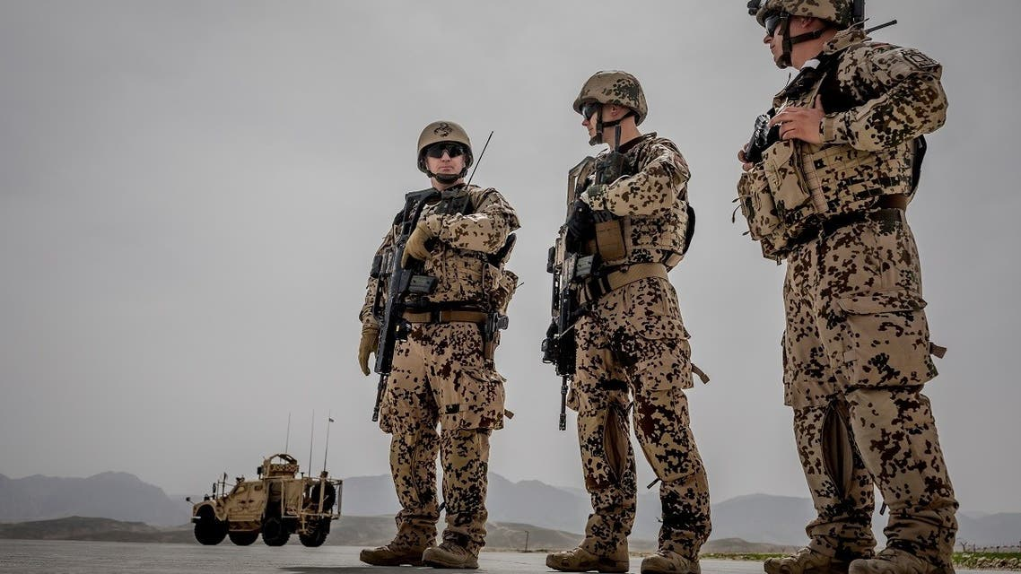 German Bundeswehr soldiers are seen at a camp in Afghanistan. (File photo: Reuters)