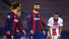 صراخ وشتائم بين بيكيه وزميله غريزمان خلال مباراة باريس