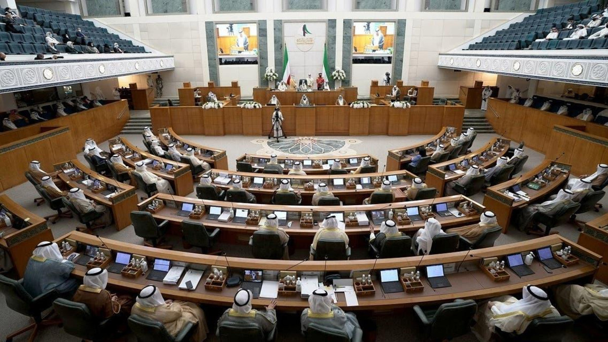 Kuwait's new Emir Nawaf al-Ahmad al-Sabah attends a parliament session, in Kuwait City, Kuwait October 20, 2020