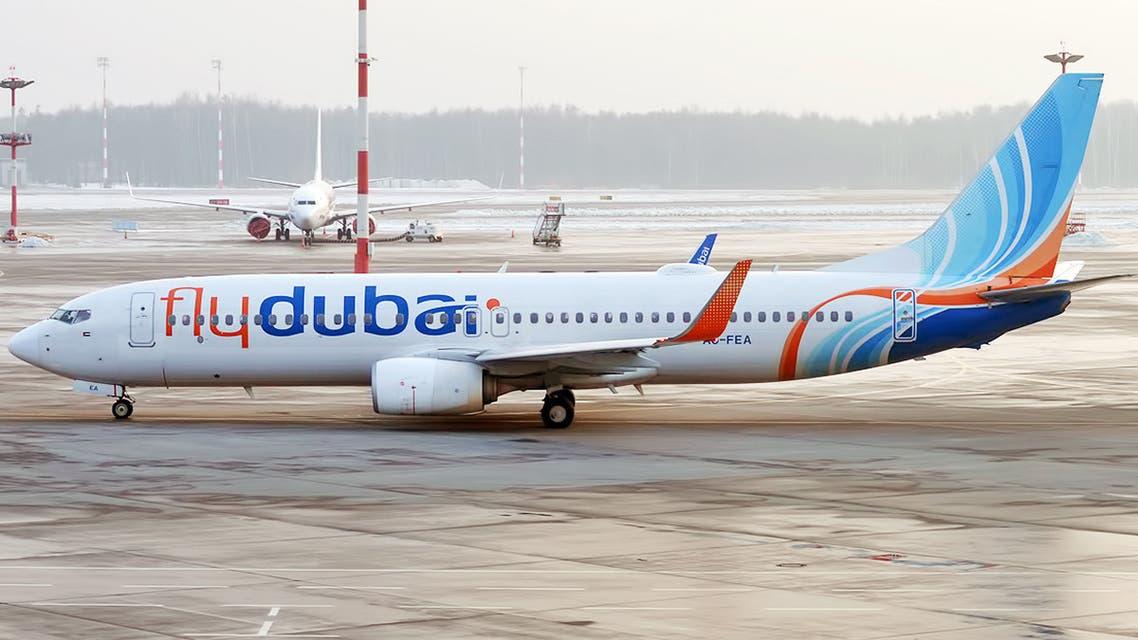 Flydubai Boeing 737 Max. (Twitter)