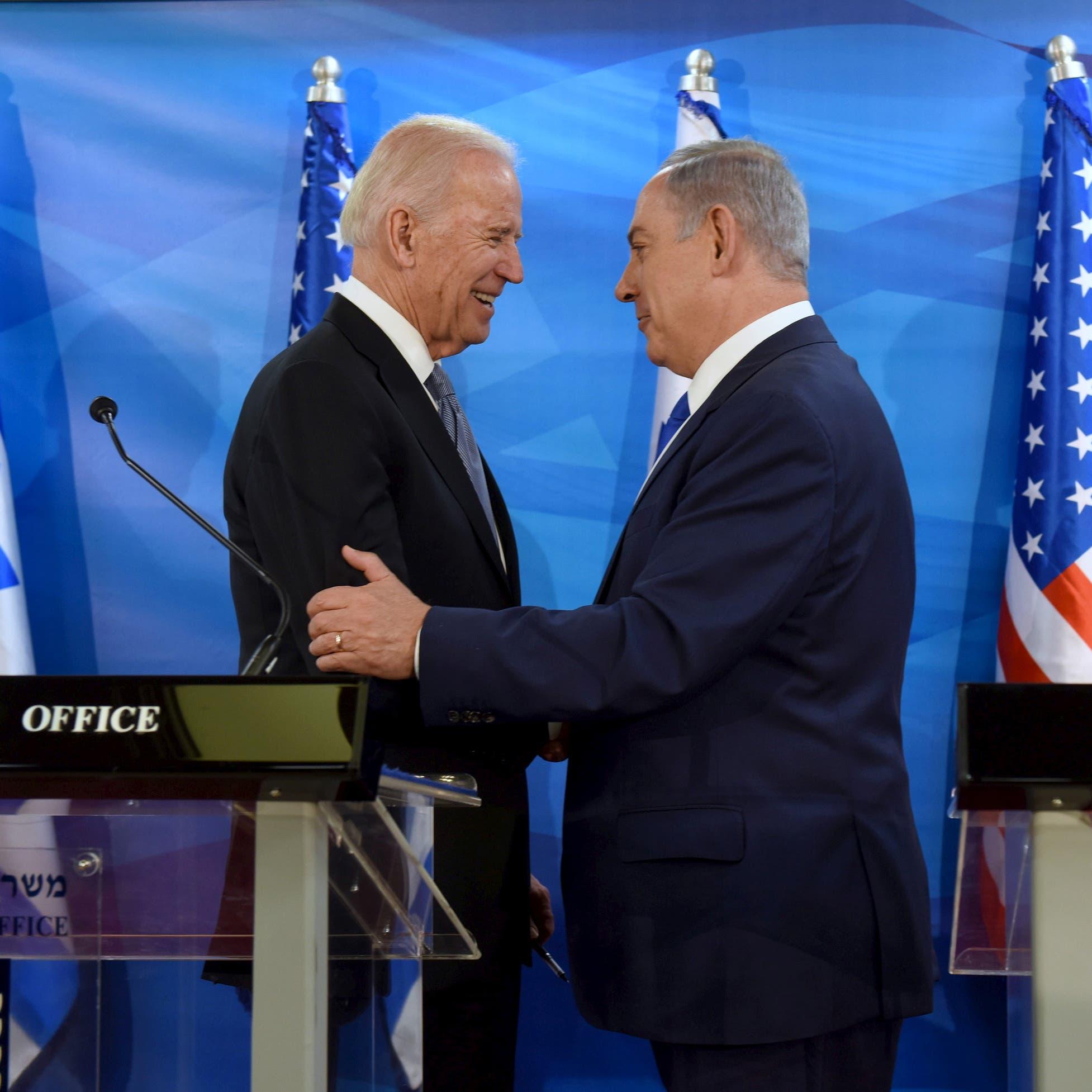 بادين يبحث مع نتنياهو التهديد الإيراني واتفاقيات السلام