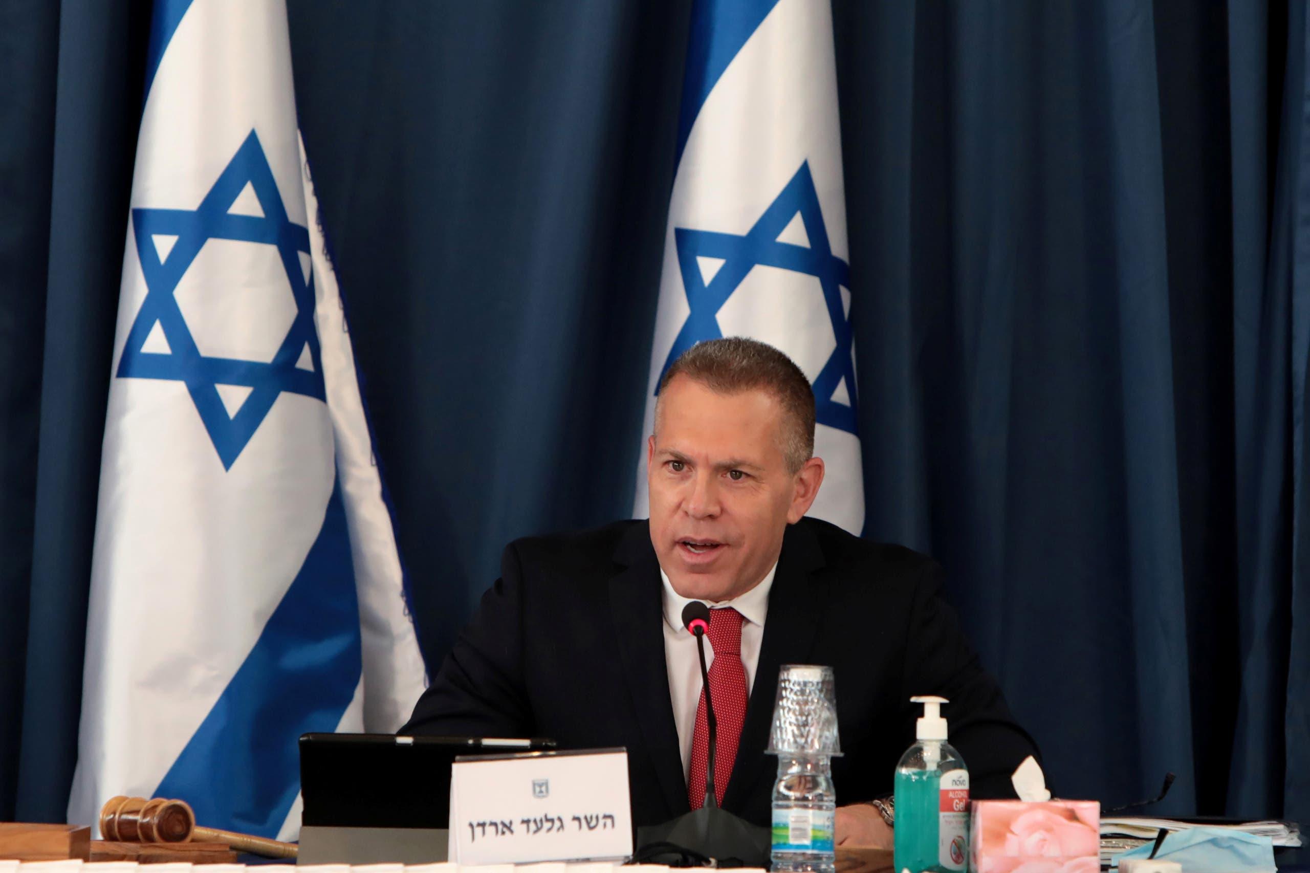 مبعوث إسرائيل لدى واشنطن السفير جلعاد إردان