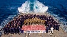 British Royal Navy seizes $15 million worth of drugs in Arabian Sea
