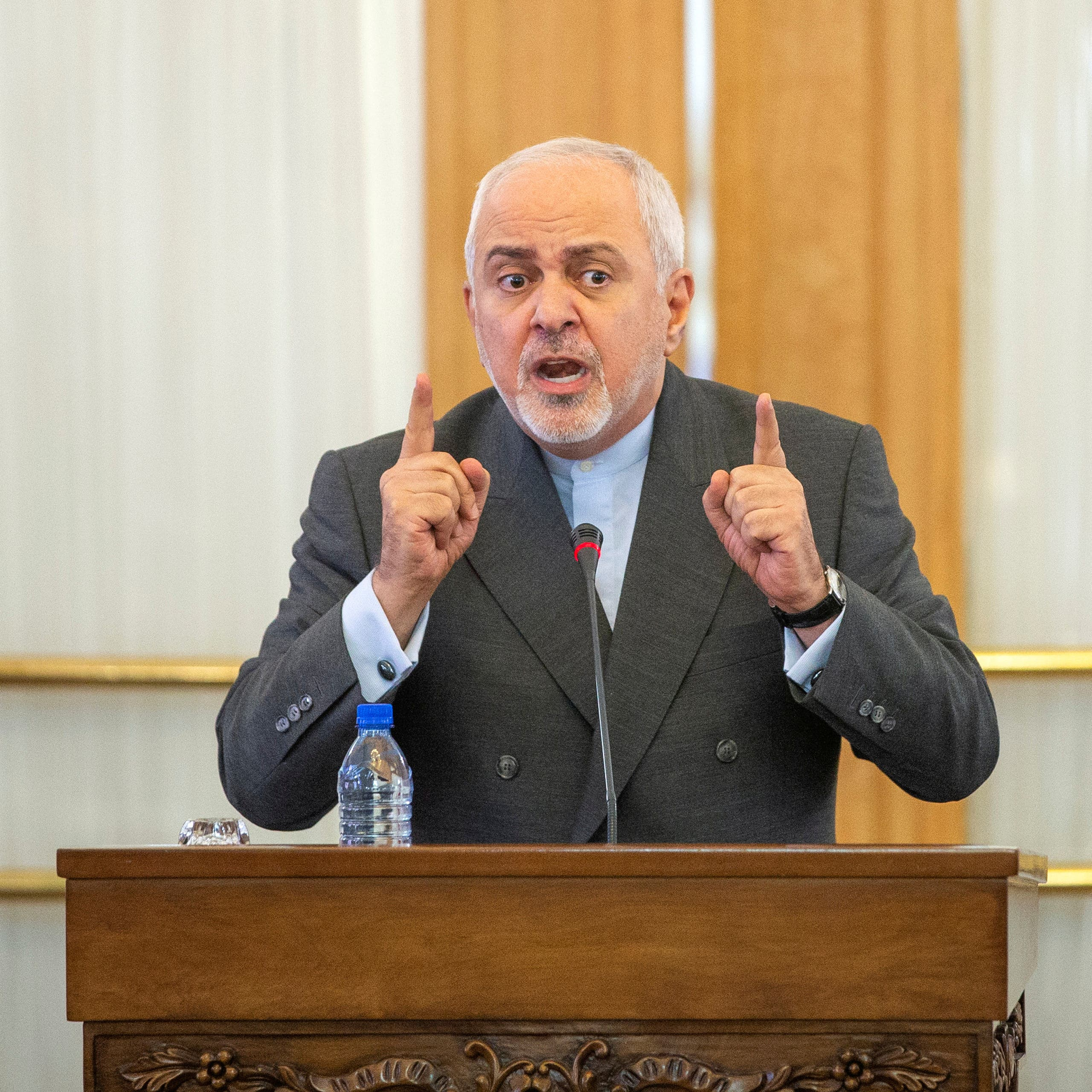 Iran's Zarif says US sanctions are against nuclear deal, must be removed