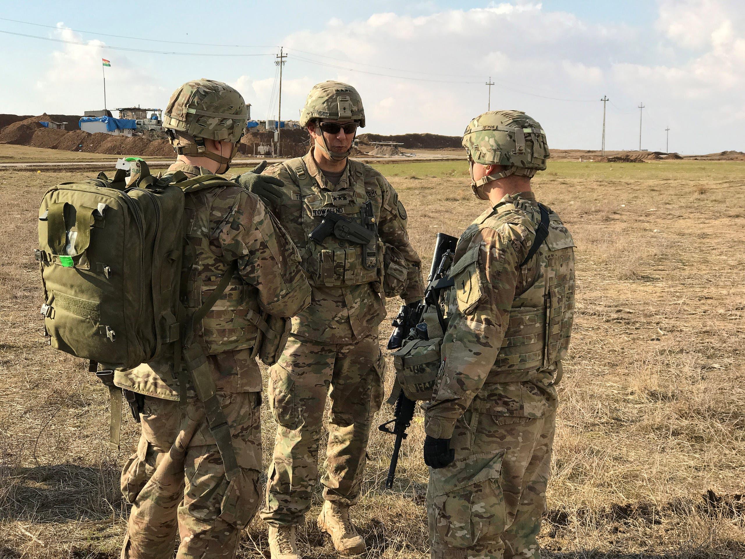 قوات أميركية في العراق (أرشيفية)