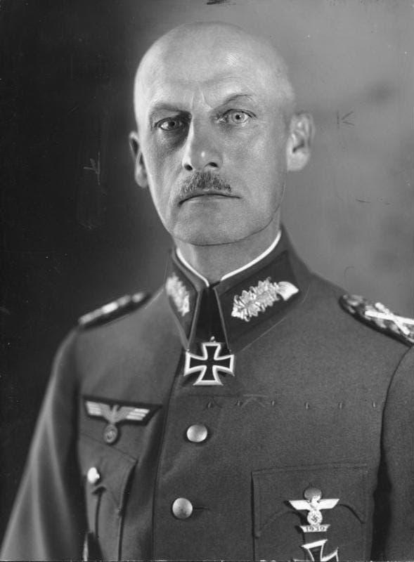 صورة لجنرال الألماني فون ليب