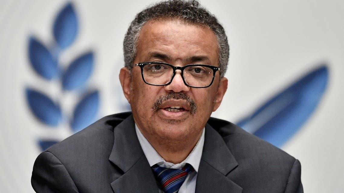 WHO director-general Tedros Adhanom Ghebreyesus addressing a press conference. (File photo: Reuters)