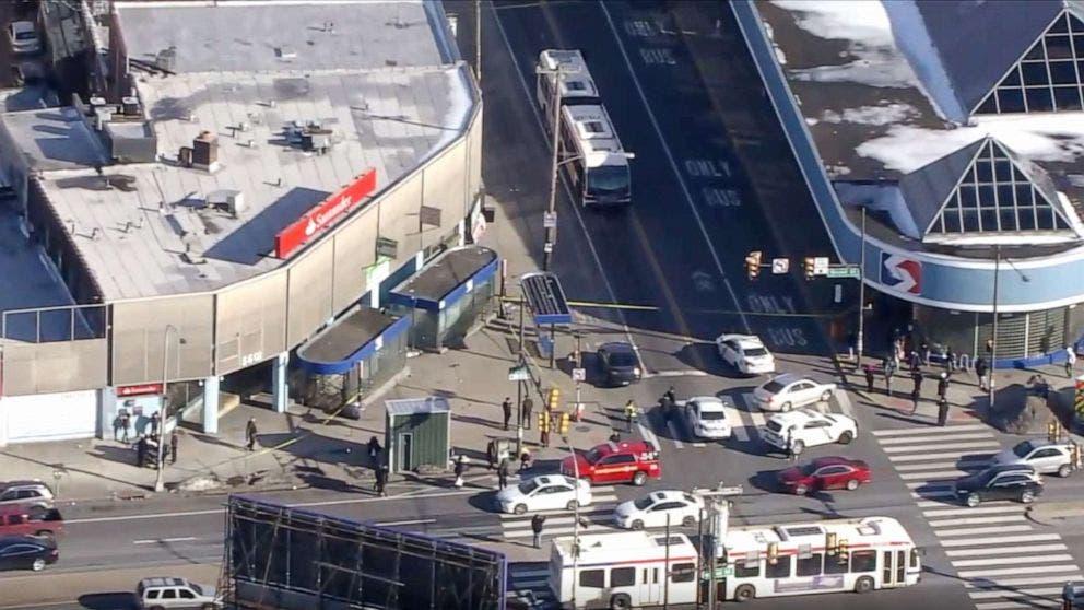 محطة القطارات حيث وقع الهجوم