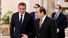 لتعزيز التعاون.. رئيس حكومة ليبيا في القاهرة