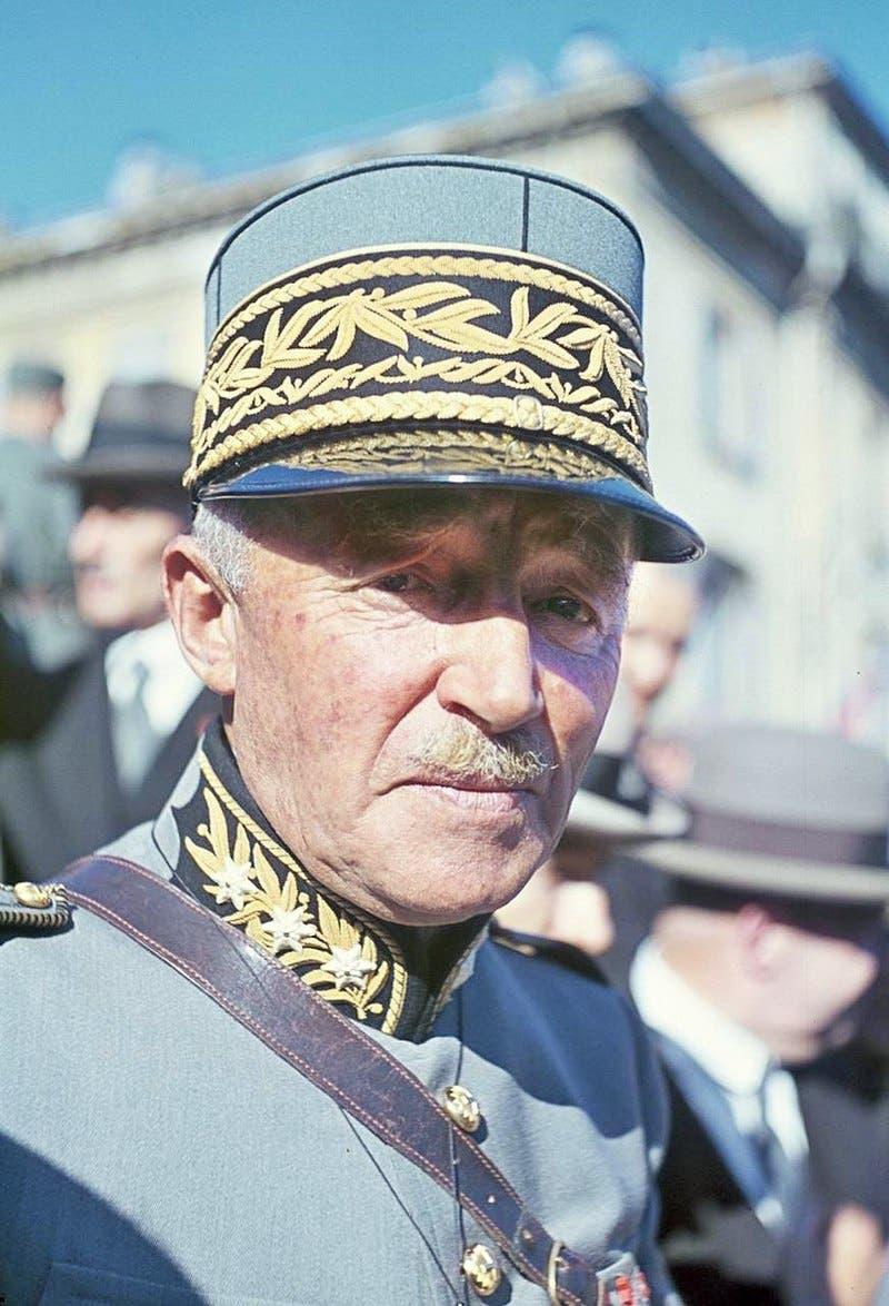صورة للجنرال هنري غيزان