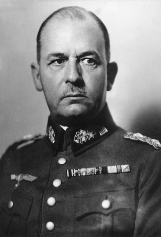 صورة للجنرال الألماني فيلهلم ليست