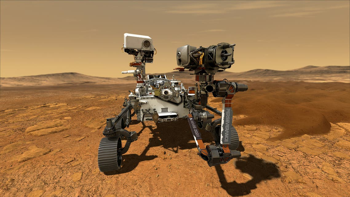 NASA's Perseverance Mars rover, the biggest, heaviest, most advanced vehicle sent to the Red Planet by the National Aeronautics and Space Administration (NASA), is seen on Mars in an undated illustration. (File photo: Reuters)