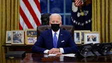 Biden's first month in office was about erasing the mark of 'former guy'