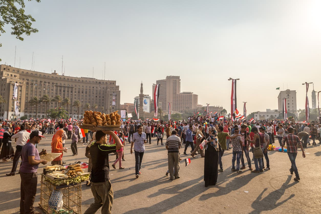 من وسط القاهرة - أرشيفية