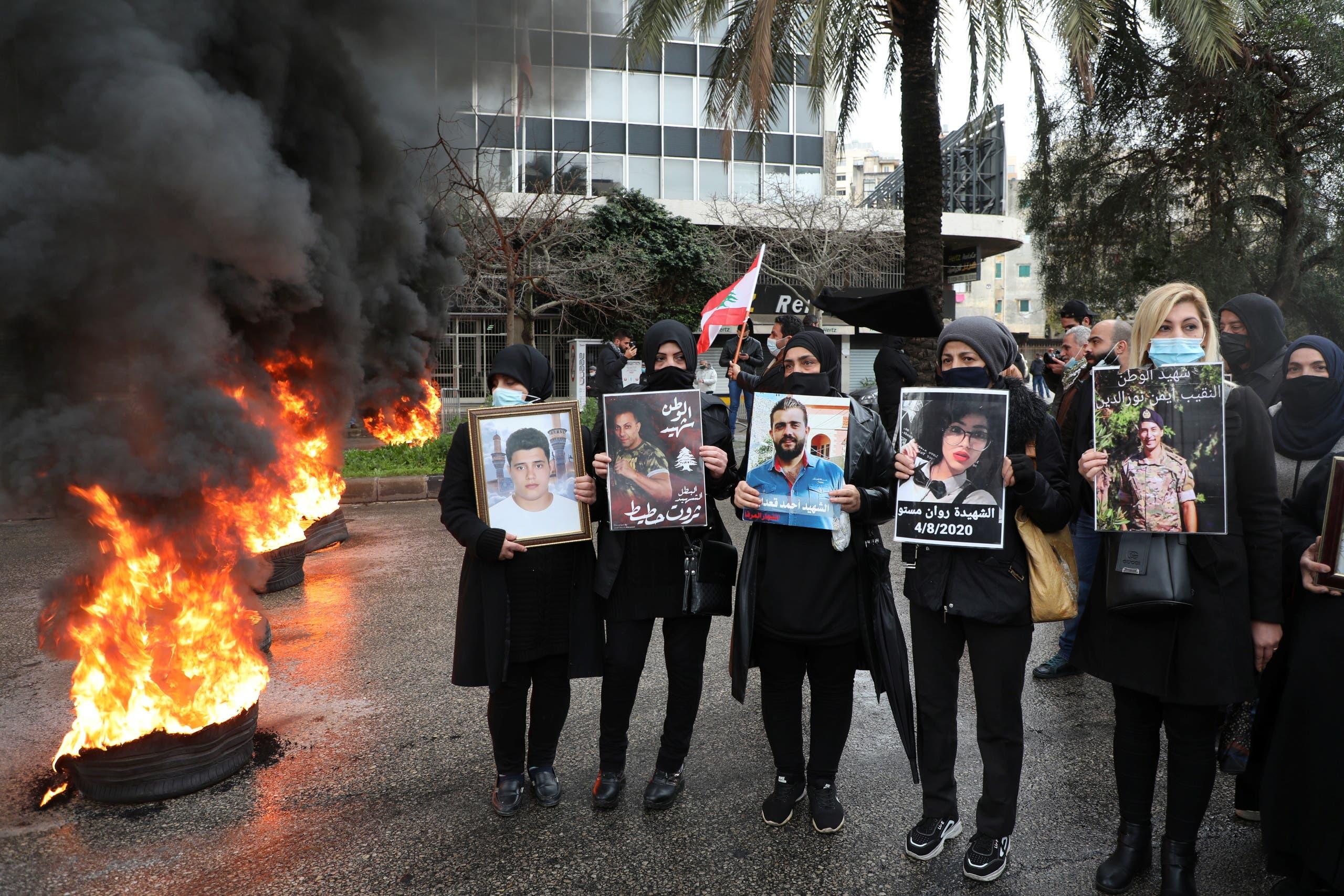 أهالي ضحايا انفجار بيروت