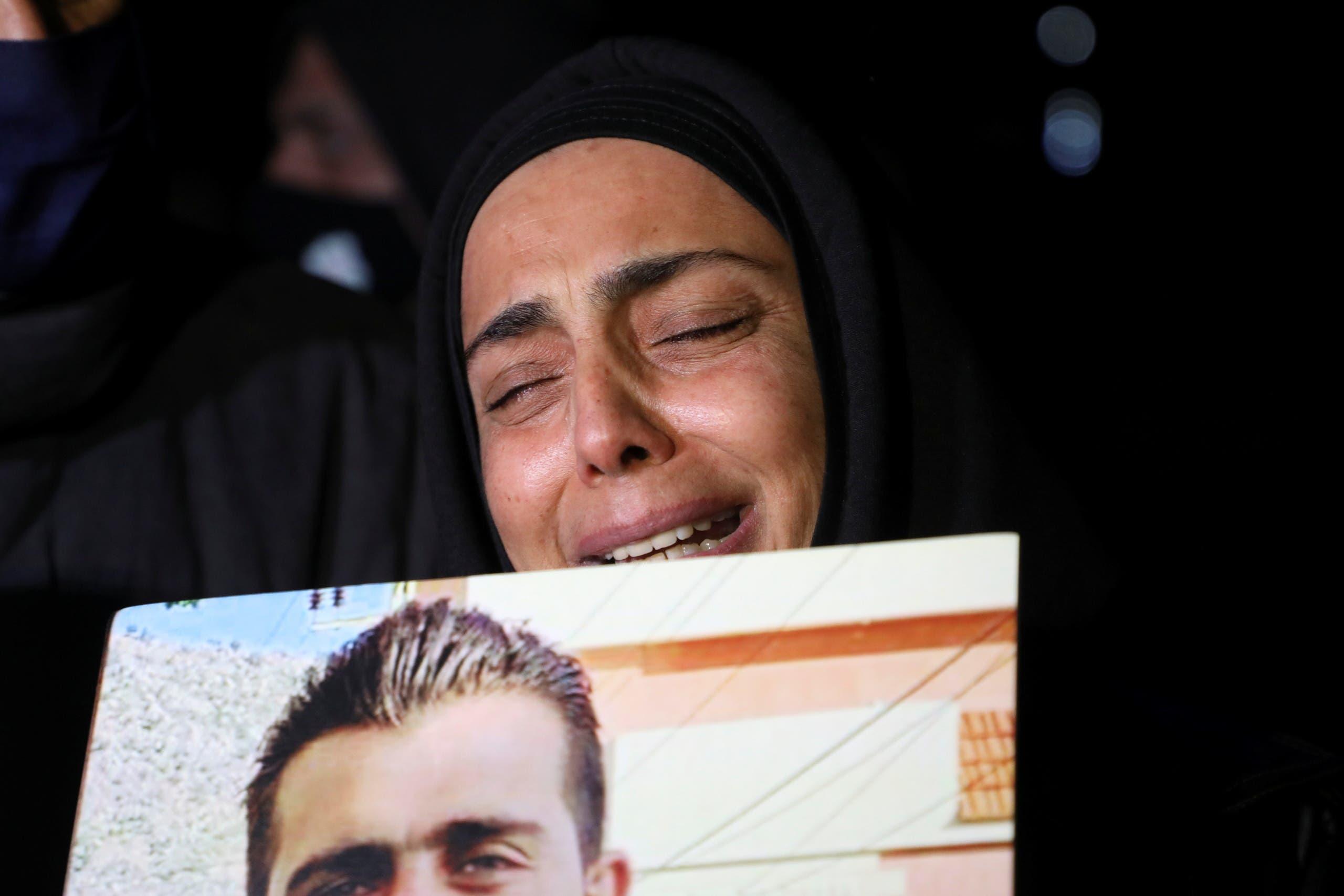 Families of Beirut port victims (archive - Reuters)