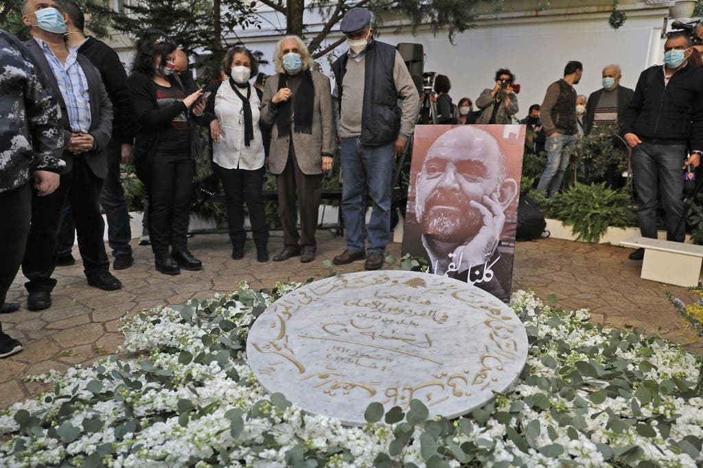A memorial ceremony for slain prominent Lebanese activist Lokman Slim (image), in the capital Beirut's southern suburbs, on February 11, 2021.  (File photo: AFP)
