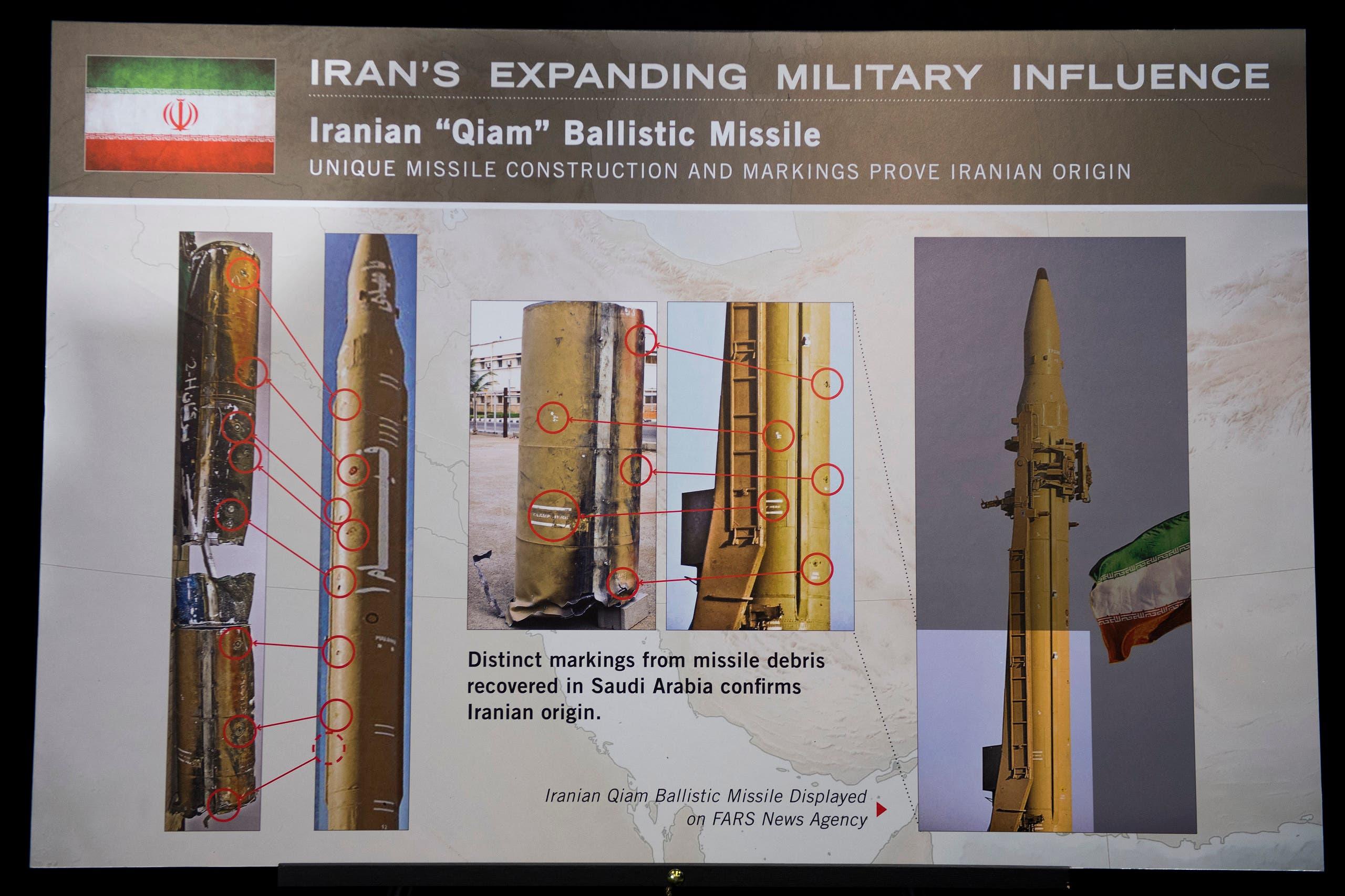 ایرانی بیلسٹک میزائل