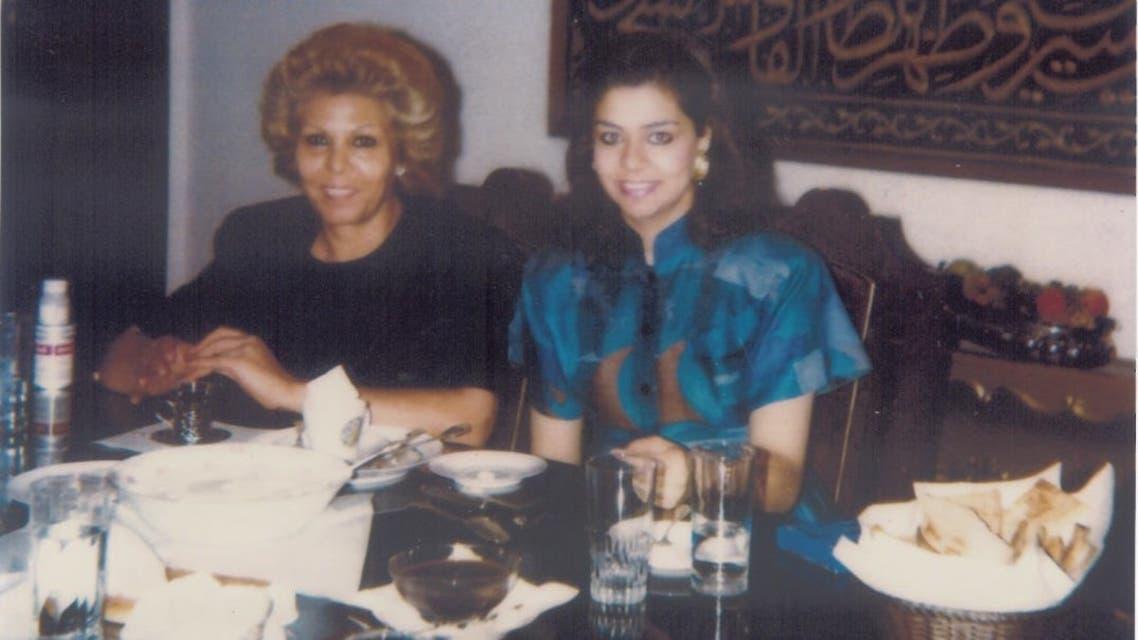 رغد صدام حسين ووالدتها