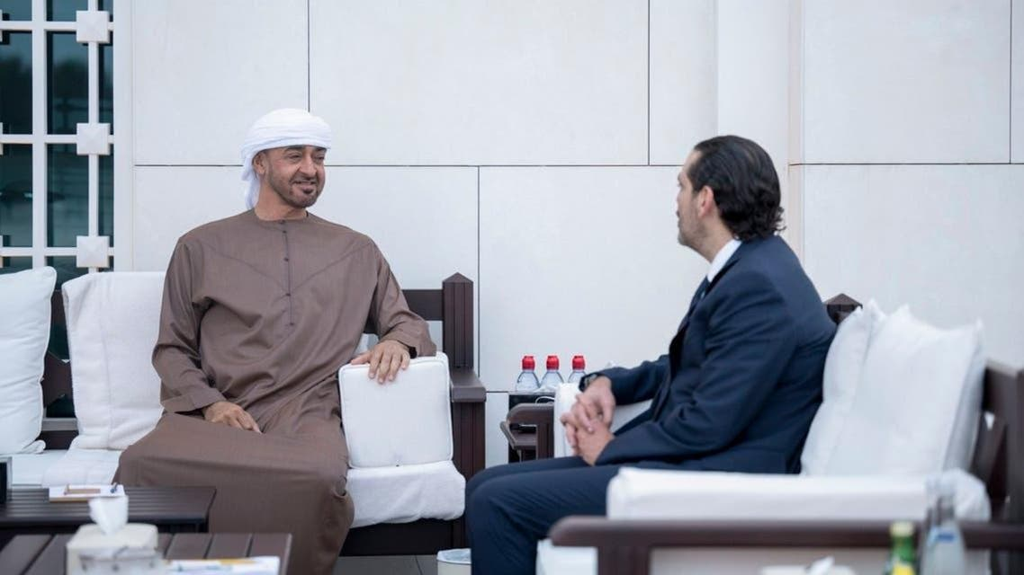 شیخ محمد اور سعد حریری کی ملاقات