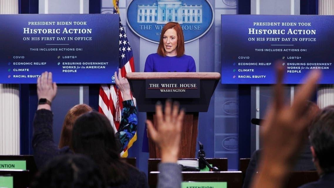 جین ساکی سخنگوی کاخ سفید