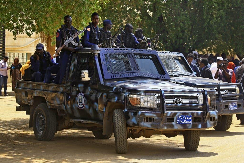 من قوات الأمن السودانية - أرشيفية - فرانس برس