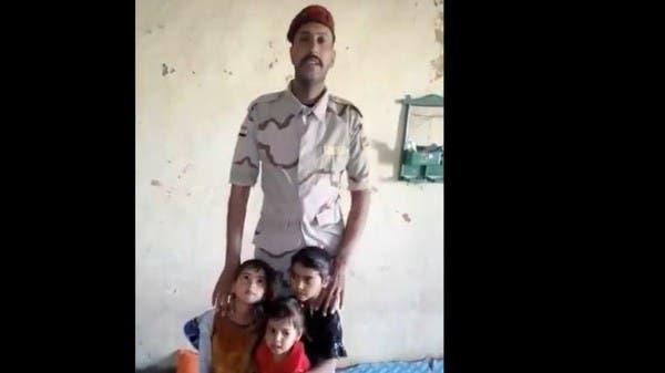 """جندي عراقي بلا راتب يناشد.. """"فقير لا مأوى لدي"""""""