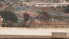 فيديو.. لحظة تعرض موكب باشاغا لهجوم في طرابلس